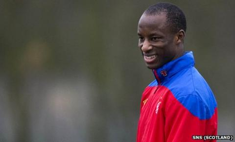 Sone Aluko has been training with Rangers