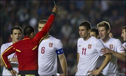 Serbia miss out on Euro 2012 qualification