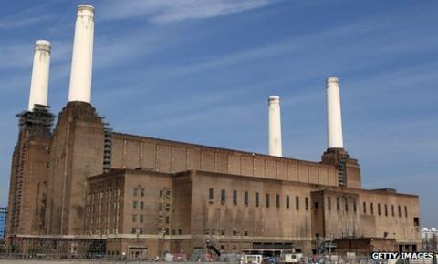 Battersea Power Station was constructed in the 1930s