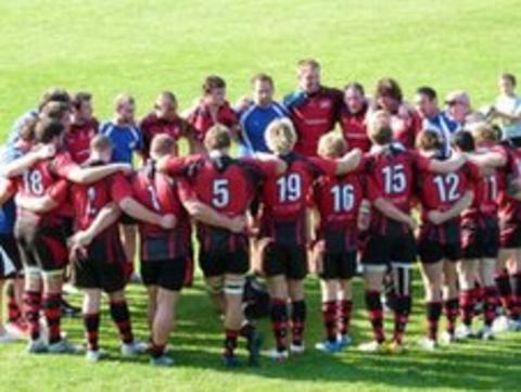 Jersey group huddle