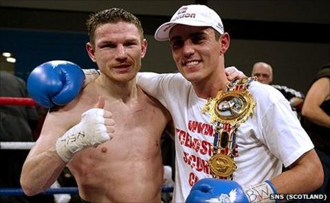 Willie Limond and Anthony Crolla