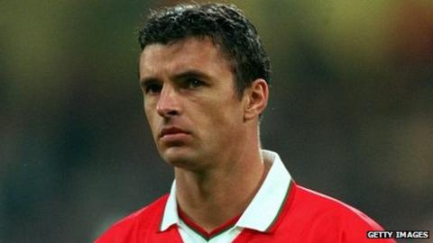 Gary Speed made his Wales debut against Costa Rica in 1990