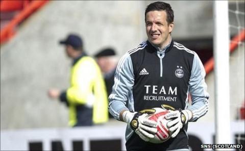 Goalkeeper Jamie Langfield