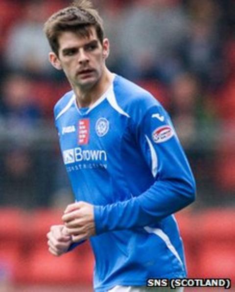 On-loan St Johnstone striker Cillian Sheridan