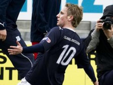 Tam McManus played for Falkirk last season