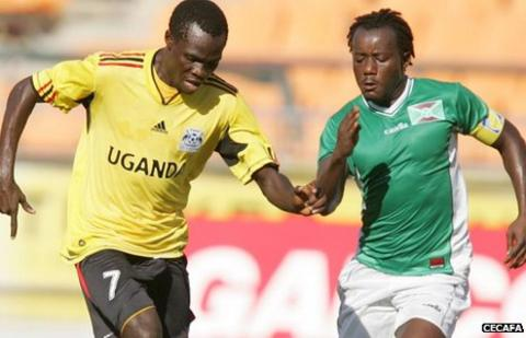 Uganda versus Burundi at the Cecafa Senior Challenge Cup