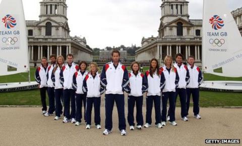 Great Britain's Olympic sailors