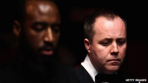 Rory McLeod and John Higgins