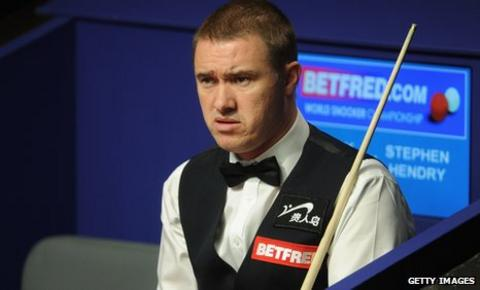 Stephen Hendry is a seven-times world champion