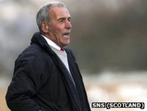 Jocky Scott has left Stirling Albion