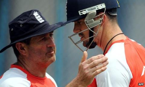 Graham Gooch and Kevin Pietersen