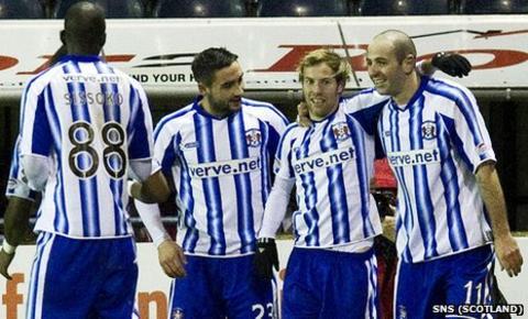 Kilmarnock were 2-0 winners against Aberdeen at the weekend