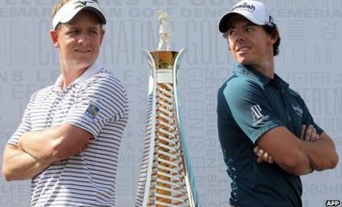 Luke Donald and Rory McIlroy