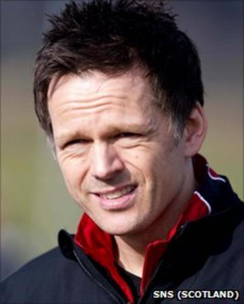 Former Scotland striker Scott Booth