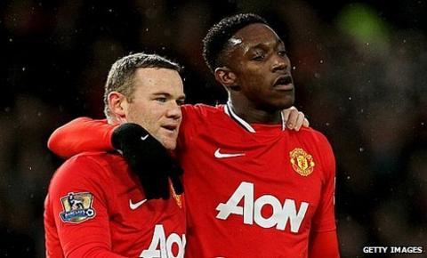 Wayne Rooney & Danny Welbeck