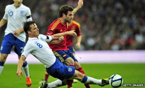 Scott Parker has won 10 caps for England, seven of them in 2011