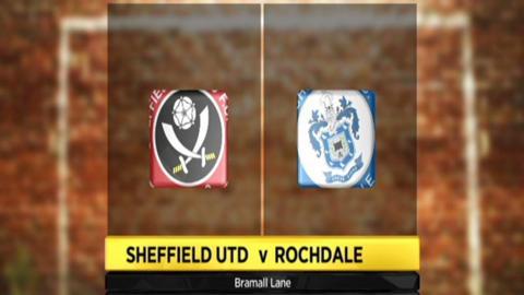 Sheffield United 3-0 Rochdale