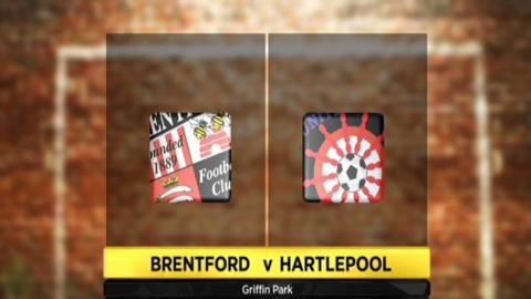 Brentford 2-1 Hartlepool