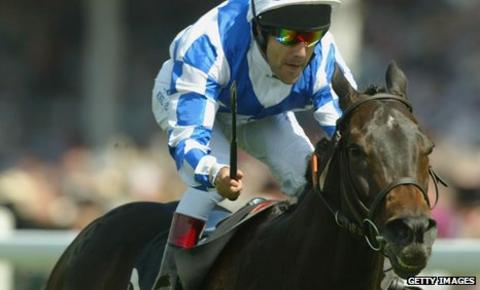 Darryll Holland and The Tatling land The King's Stand Stakes race run at Ascot Racecourse