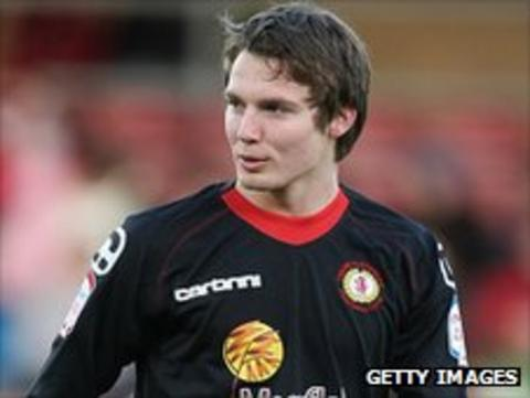 Crewe Alexandra teenager Nick Powell