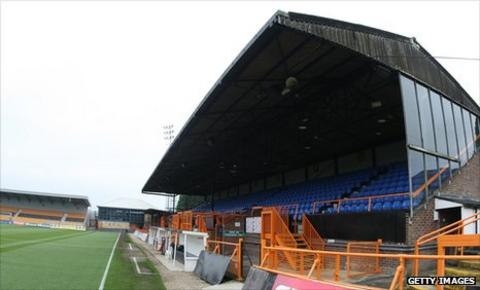 Underhill, home of Barnet FC