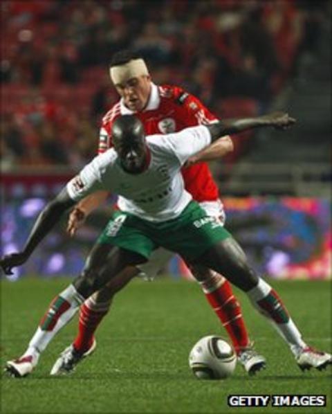 Maritimo striker Baba Diawara