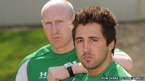 Tom Shanklin and Gavin Henson