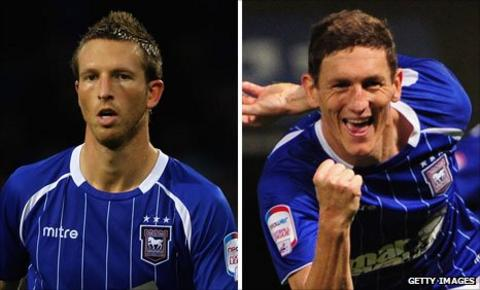 Danny Collins and Keith Andrews