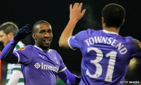 Jermain Defoe scored his ninth goal of the season