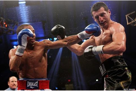 Andre Ward (left) and Carl Froch