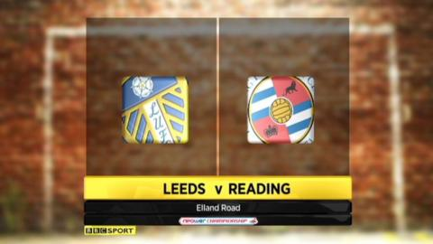 Highlights - Leeds 0-1 Reading
