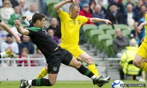Darren O'Dea and Kenny Miller