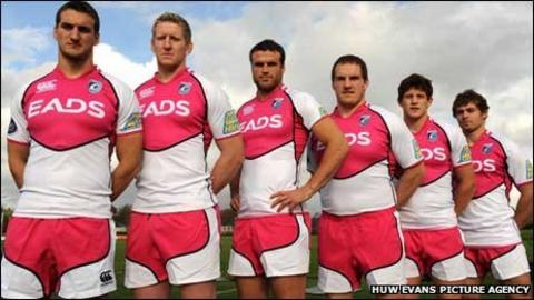 Sam Warburton, Bradley Davies, Jamie Roberts, Gethin Jenkins, Lloyd Williams and Leigh Halfpenny
