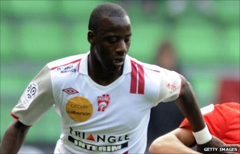 Samba Diakite of Nancy