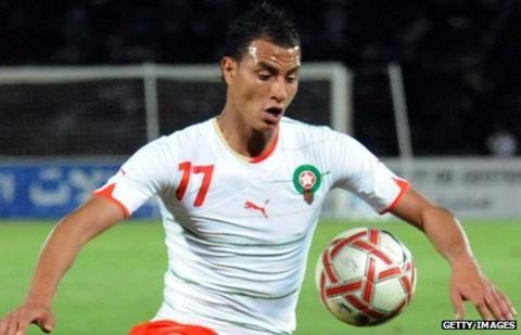 Arsenal and Morocco striker Marouane Chamakh