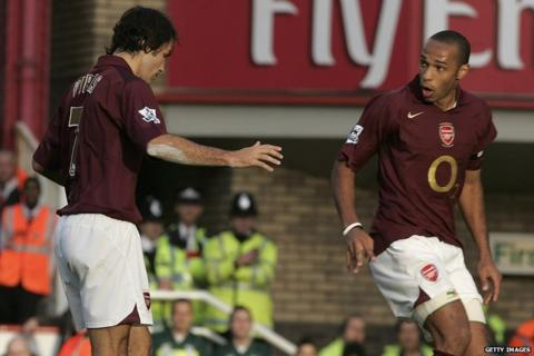 Robert Pires, Thierry Henry