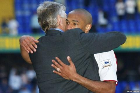 Arsene Wenger, Thierry Henry