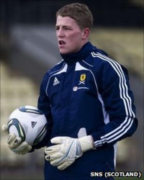 Dundee United's Marc McCallum