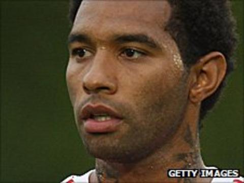 Stoke City winger Jermaine Pennant
