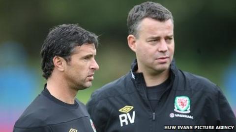 Gary Speed and Raymond Verheijen