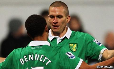 Elliott Bennett and Steve Morison