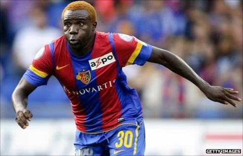 Zambian striker Tembo Fwayo