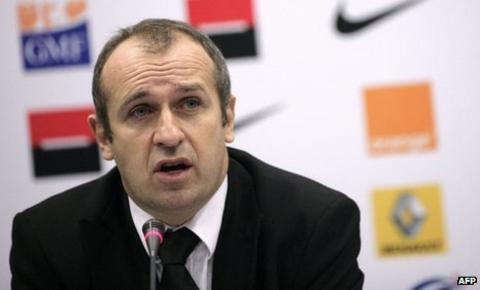 New France coach Philippe Saint-Andre