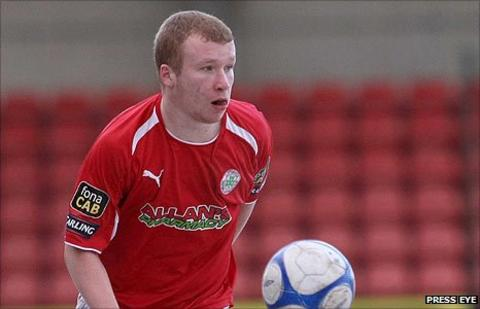 Liam Boyce left Cliftonville for a spell with Werder Bremen