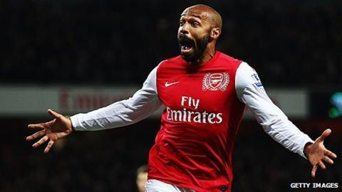 best loved 08d23 cf585 Thierry Henry return to Arsenal a dream - Arsene Wenger ...