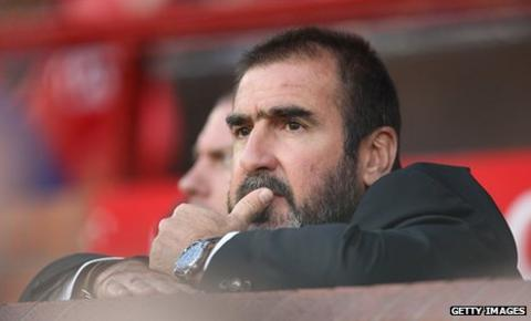 Former Manchester United and Leeds United striker Eric Cantona