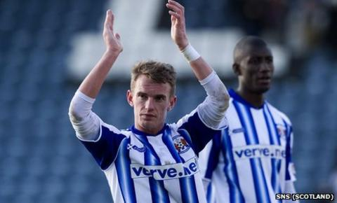 Dean Shiels has been an influential player at Rugby Park