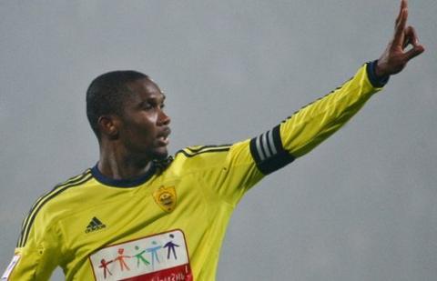 Cameroon and Anzhi Makhachkala's Samuel Eto'o