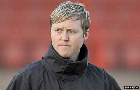 Scott Young has resigned as manager of Premiership club Glentoran