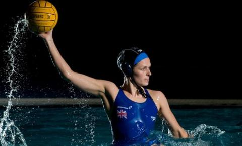 GB water polo captain Fran Leighton. Photo: SWpix.xom